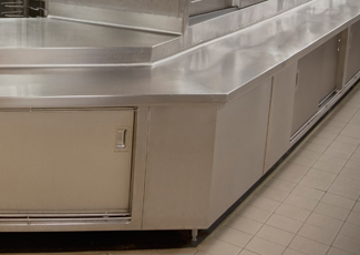 Paris, KY Stainless Steel Cabinets