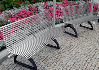 Cynthiana, KY Stainless Steel Bench